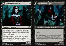 MTG HEIR OF FALKENRATH FOIL EXC - EREDE DI FALKENRATH - SOI - MAGIC
