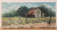 Limited Edition Giclee Print Signed Jean Bartlett Hopkins County Barn Painting