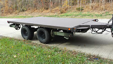 5-ton Heavy Duty Flat Bed UTILITY Trailer Dual axle,  model XM1061E1 Military