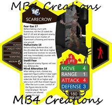 Heroscape Custom DC Scarecrow Figure With Double-Sided Card!