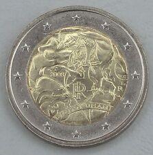 """2 Euro Italien 2008  """"Menschenrechte"""" unz"""