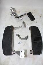 Harley FXR Police floorboards + mounts + brake pedal FXRP FXRD FXRT WOW EPS20681