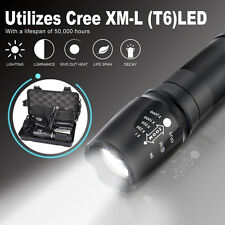 5000LM Shadowhawk X800 G700 Tactical LED Flashlight Military Torch Light Set