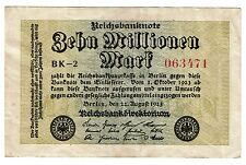 Germany 10000000 10 Million Mark 1923  (B388)