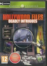 JEU VIDEO POUR PC--HOLLYWOOD FILES DEADLY INTRIGUES