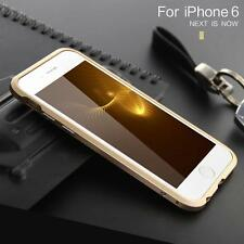 Newest Shockproof Armor Aluminum Metal Screw Bumper Frame Case For iPhone 6 6s