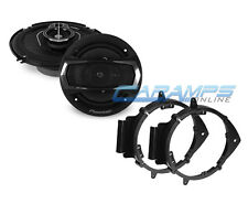 "NEW PIONEER 6.5"" 3 WAY CAR TRUCK STEREO SPEAKERS W/ DOOR MOUNTING BRACKETS"