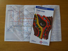 2 x London Undeground Tube Maps