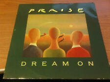 "12"" MIX PRAISE DREAM ON  WEA ‎– YZ670T VG+/EX UK PS 1992"