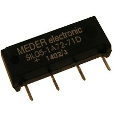 Meder SIL05-1A72-71D Relais 5V 1xEIN 500 Ohm SIL Reed Relay mit Diode 086327
