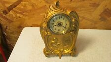 Antique Western Art Nouveau Shelf Clock
