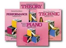 Bastien Beginner Piano Basics 4 Book Pack Set Primer Level New