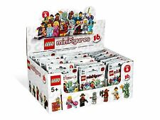 NEW SEALED LEGO 8827 Box/Case of 60 MINIFIGURES SERIES 6