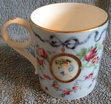 Wedgwood Archive Collection Gilded Fine Bone China Mug - Ribbon and Wild Rose