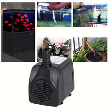 1000L/h  Submersible Water Pump Aquarium Fish Tank Power head Fountain Air Water