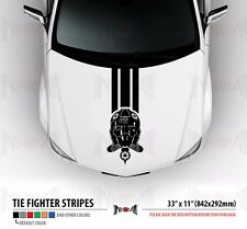 TIE FIGHTERS SQUAD PILOT Star Wars Hood Stripes Car Vinyl Sticker Decal