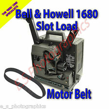 BELL & HOWELL 1680 Slot Load 16mm Cine Projector Belt (Main Motor Belt)