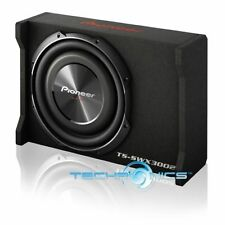 "PIONEER TS-SWX3002 +2YR WARANTY CAR 1500W 12"" SHALLOW MOUNT SUBWOOFER WITH BOX"