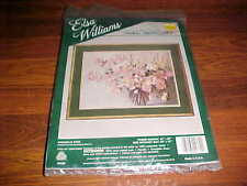 Donald Art Comapny Elsa Williams Crewel Embroidery Rouvier Magnolia Vase New