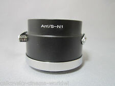 Camera Adapter For Arriflex Arri S Mount Cine Lens to Nikon 1 J4 S2 V3 AW1 J3 J2
