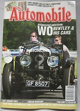 The Automobile 08/2007 featuring Bentley, Buick, Fiat 500