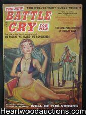 """""""Battle Cry"""" December 1959 Nice Sharp Harem Girl Cover"""