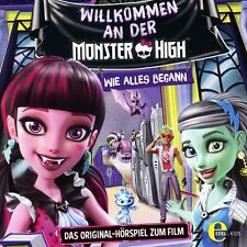 MONSTER HIGH - WELCOME TO MONSTER HIGH: ORIGINAL HÖRSPIEL ZUM FILM   CD NEU