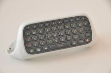 Official Microsoft Xbox 360 Chatpad Keypad Messenger White