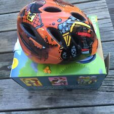 "New-Old-Stock Giro Spree Toddler Helmet 18""-19.75""; 46-50cm Orange Construction"