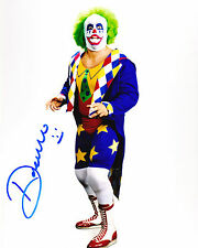 DOINK THE CLOWN AUTOGRAPH SIGNED 8X10 COA WWE WWF
