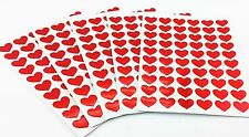 300pcs Cute Red Love Heart Lover Note Stickers Diary School Book cool fun party