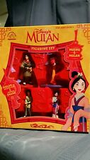 NEW Disney Collectible Mulan Ping Shang Mushu Figurine Set 42519