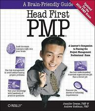 New Head First PMP by Jennifer Greene and Andrew Stellman (2013, Paperback)