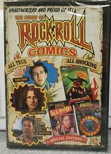 Unauthorized: The Story of Rock-N-Roll Comics (DVD, 2012) RARE BRAND NEW