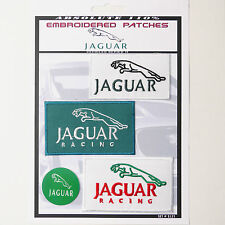 JAGUAR CARS RACING MOTORSPORT PATCHES Iron-On Patch Super Set #121 - FREE POST