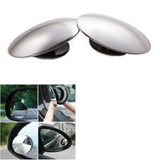 """2x Universal 2"""" Wide Angle Convex Rear Side View Blind Spot Mirror for Car"""