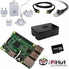 RASPBERRY PI 3 16GB Starter/Media Centre Kit (2016 Model)