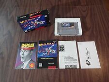 Mega Man X2 (Super Nintendo, SNES) Complete - Authentic