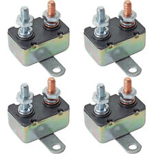 4-PACK 30 AMP AUTO-RESET CIRCUIT BREAKER 30A ELECTRIC WIRE SWITCH FAN LIGHT LAMP