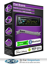 Fiat Brava DAB radio, Pioneer stereo CD USB AUX player, Bluetooth handsfree kit