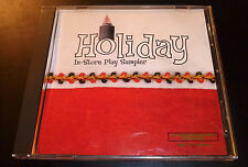 """HOLIDAY IN-STORE PLAY SAMPLER"" Christmas (CD 1996) Capitol Records 21-Tracks VG"