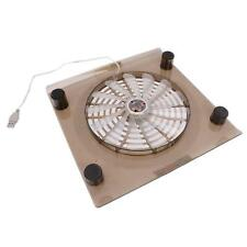 "Laptop 14.1""-15.4"" Notebook USB Cooling Powerful Fan LED Light Cooler Pad"