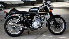 AJS Cadwell 125 motorcycle retro cafe racer 125 cc motorbike