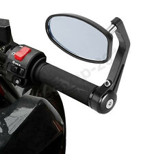 "MOTORCYCLE 7/8"" HANDLE BAR END REARVIEW MIRRORS FOR CHOPPER CRUISER SPORTS BIKES"