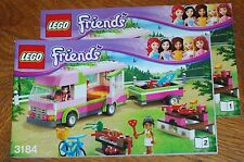 LEGO Bauanleitung Instruction Manual Friends 3184 Adventure Camper