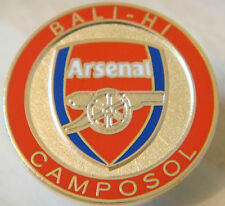 Arsenal RARE Bali-HI camposol DISTINTIVO SPILLA PIN IN DORATI 25 mm x 25 mm