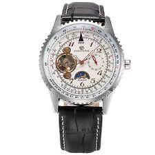 Herren Automatikuhr Herrenuhr Mondphase Herren Mechanische Armbanduhr Herren Uhr