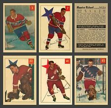 1954-55 Parkhurst Complete Set Reprint (100 cards) Mint, In Pocket Sheet Album