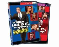 NEW - Whose Line Is It Anyway: Season 1, Vol. 1 and 2 (Uncensored)