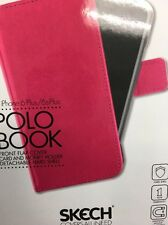 New Pink Shell Skech Polo Book Cover Case For iPhone 6 Plus & iPhone 6s Plus